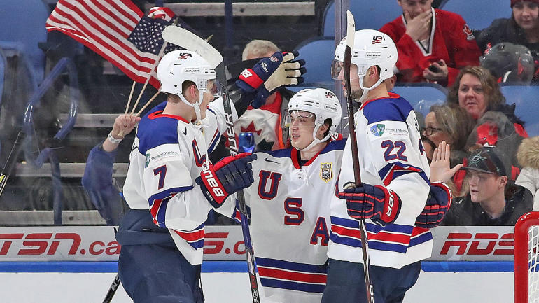 Team USA dominates Czech Republic to win bronze at 2018 World Junior Championship