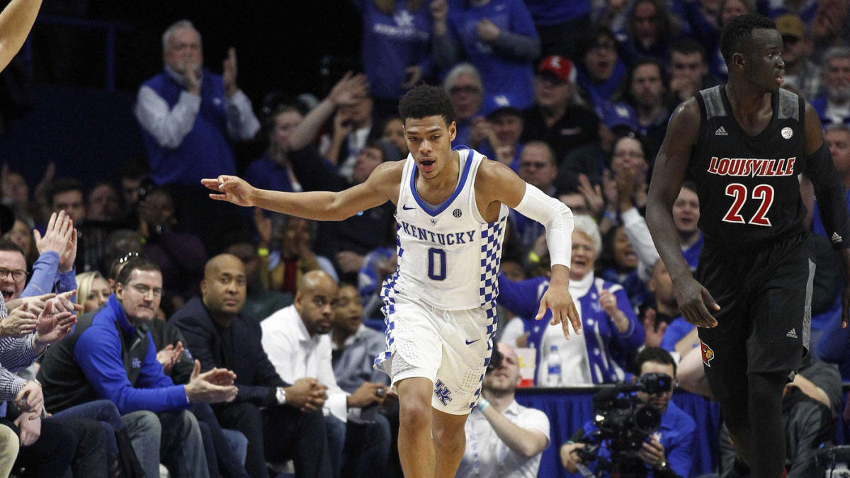 2018-19 college basketball rankings: Kentucky jumps to No. 1 in the way-too-early Top 25 (and 1)