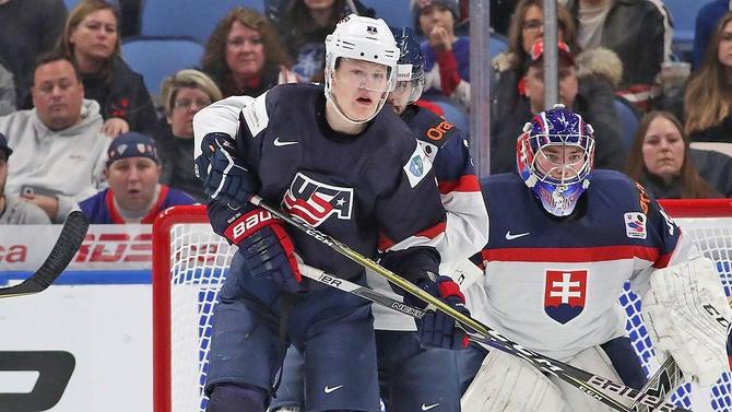 73e04152926 Team USA falls to Slovakia in major World Juniors upset, faces rival ...