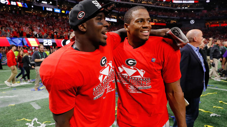 nick chubb  sony michel lead seniors looking to leave