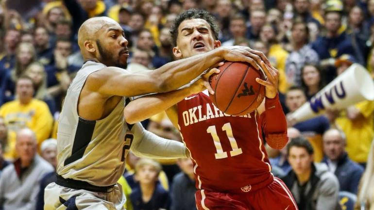 Key to beating Oklahoma? Getting in Trae Young's head; West Virginia does just that - CBSSports.com