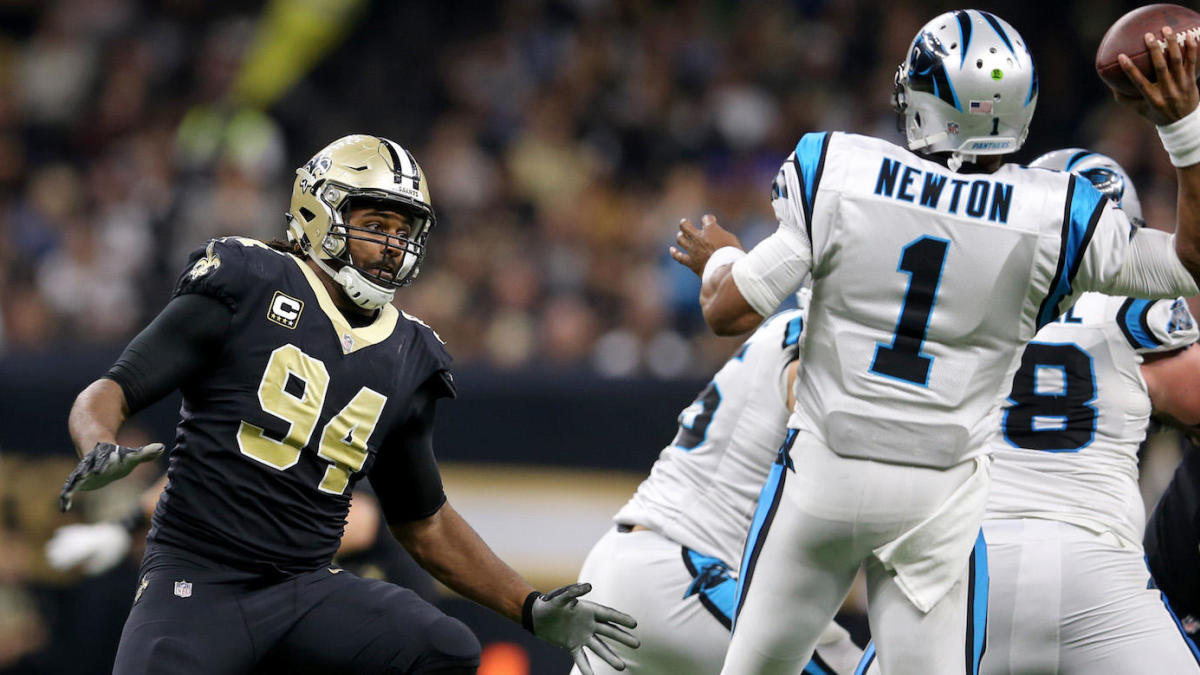 ac284575 Cameron Jordan rubs salt in the wound, sends Cam Newton wine after Saints  win - CBSSports.com