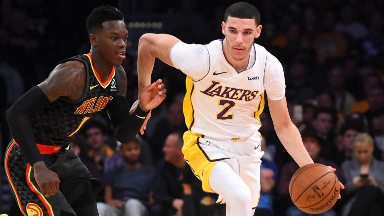 NBA games Sunday, scores, highlights: Lonzo helps Lakers end nine-game skid