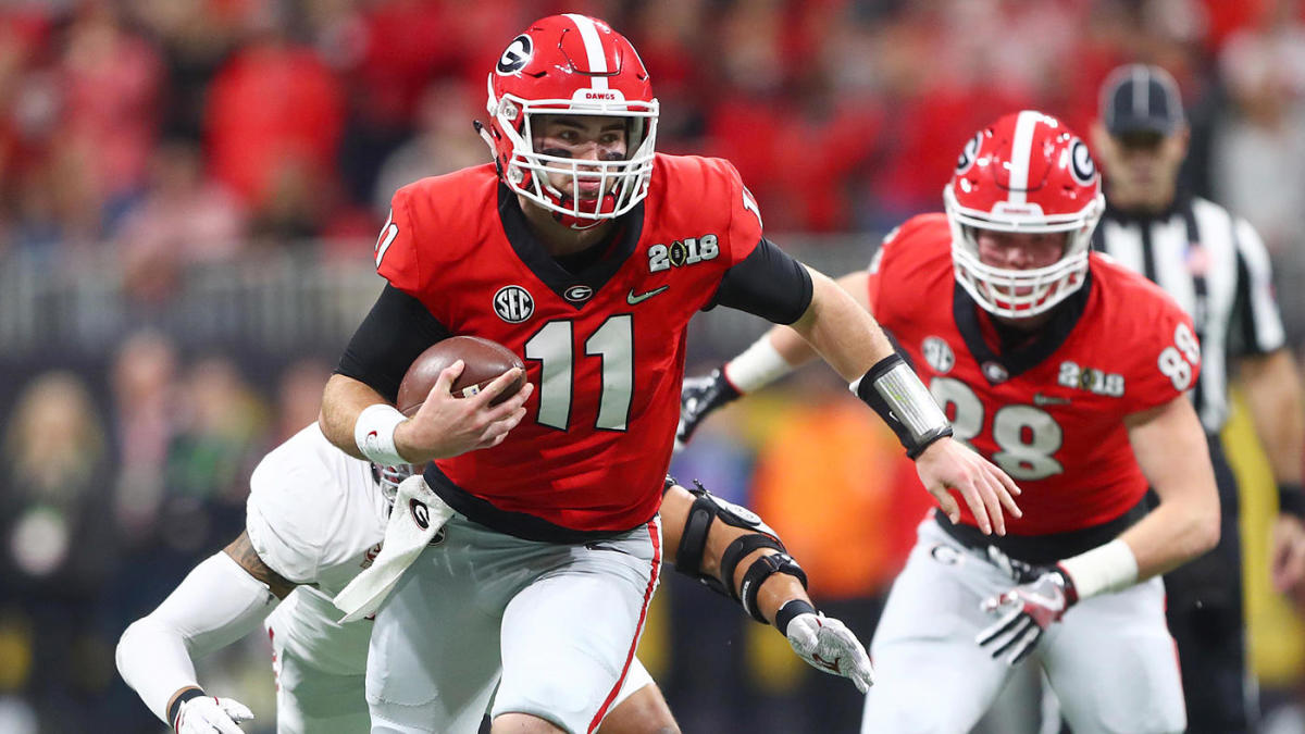 outlet store 1c62b 12439 Georgia vs. Notre Dame odds, predictions: 2019 college ...