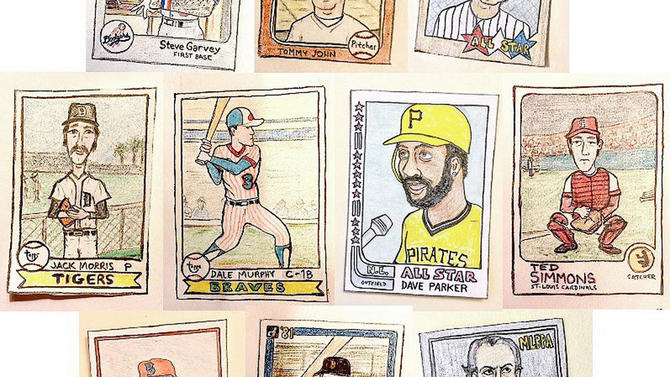 How A Very Talented Baseball Fan Is Bringing Baseball Cards Back In