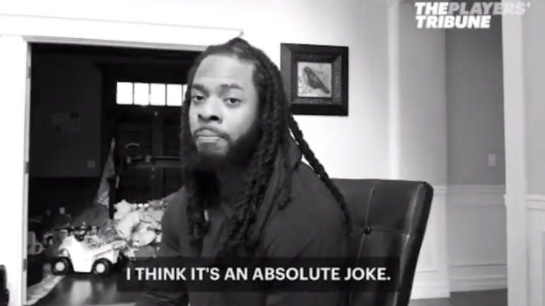 Richard Sherman rips NFL concussion protocol, says it's 'an absolute joke'