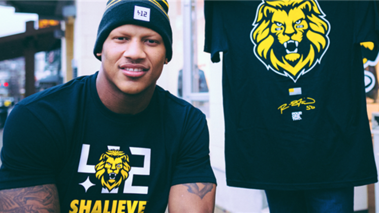 new arrival 0aaed 60cac Ryan Shazier creates T-shirt to raise money for spinal ...