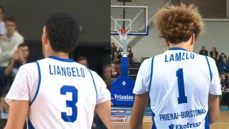 d1df04b4f69a LaMelo and LiAngelo Ball go scoreless in Lithuania pro debut  Takeaways -  CBSSports.com