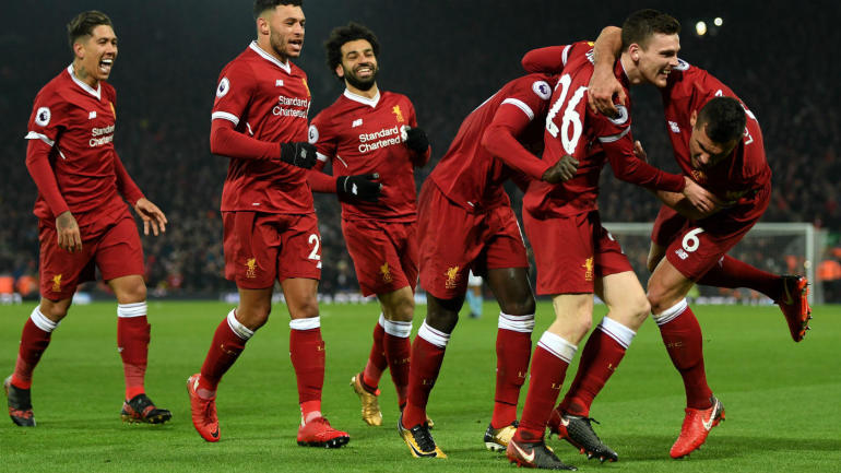 liverpool vs manchester city score highlights reds blitz citizens with four golazos cbssports com