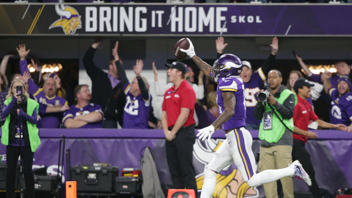 23e19f84 Apple Watches thought fans watching Saints-Vikings were having heart ...