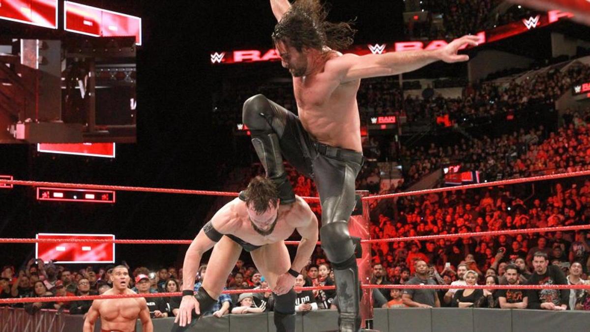 WWE Raw results, recap: Braun Strowman flips, Seth Rollins