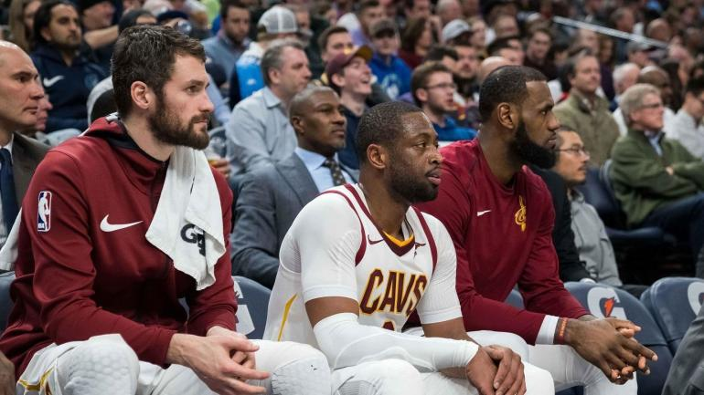 Cavaliers-bench