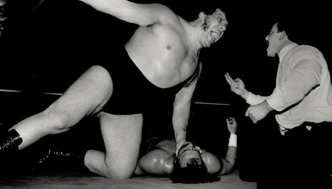 Being Andre The Giant Cbssportscom