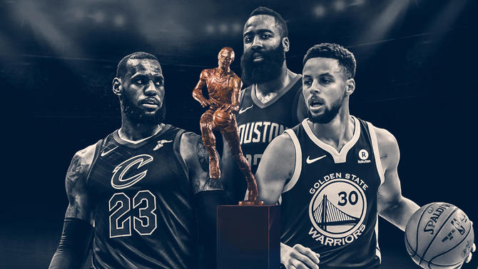 7a532c10a11 NBA Midseason Awards  James Harden finally lands MVP  Celtics  brass ...