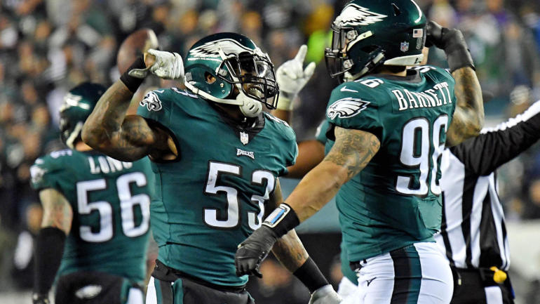 NFL Free Agency: Eagles re-sign LB Nigel Bradham to five-year, $40M deal