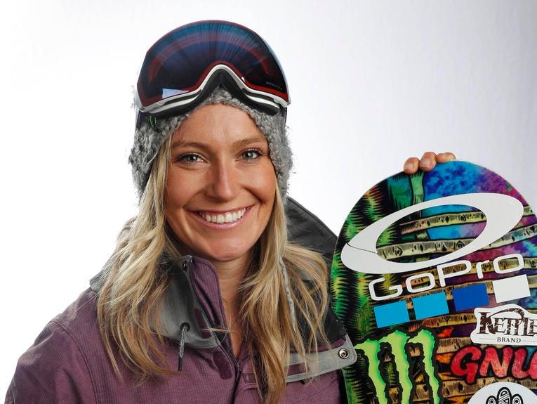 Jamie Anderson, Snowboarding