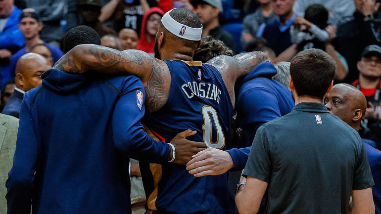 DeMarcus Cousins injury  4 key questions with Pelicans  All-Star center out  for season - CBSSports.com 539432716