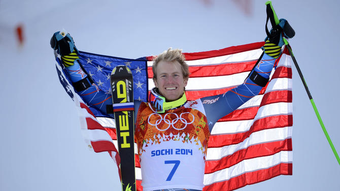 Olympics: Alpine Skiing-Men's Giant Slalom