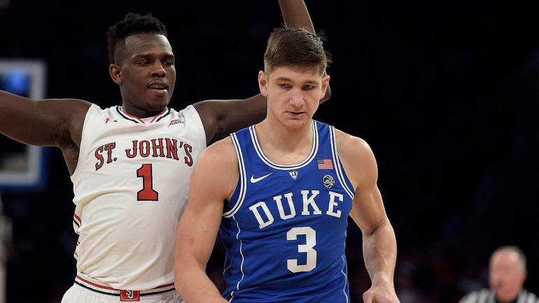 There's no defense for No. 4 Duke losing to St. John's, but still time to get things right ...