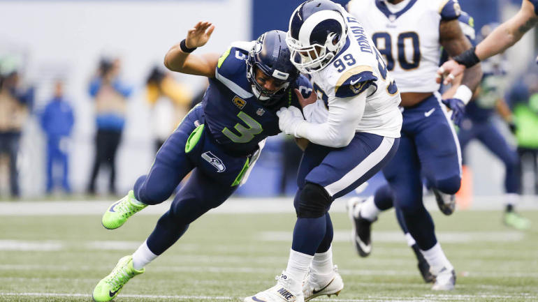 Rams star Aaron Donald wins 2017 NFL Defensive Player of the Year award