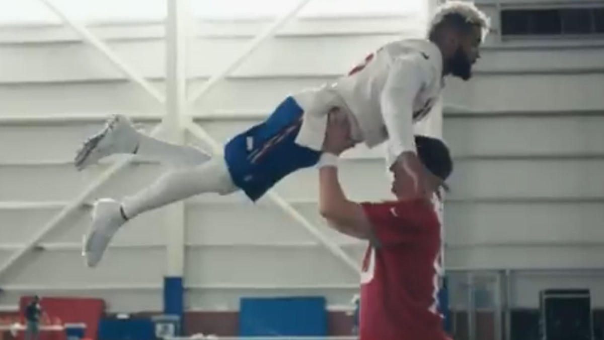 WATCH: Eli Manning and Odell Beckham's 'Dirty Dancing' ad