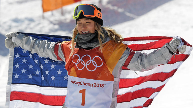 Snowboarder Chloe Kim wins Olympic halfpipe gold, Team USA's Arielle Gold takes bronze