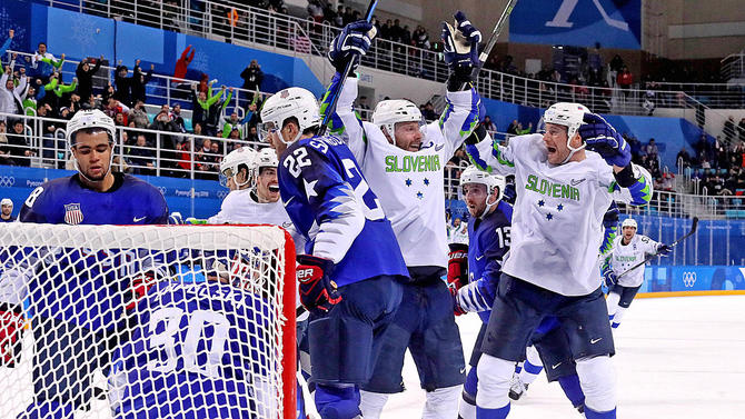 Pyeongchang: Team USA Crumbles Late, Falls To Slovenia In Shocking Opener