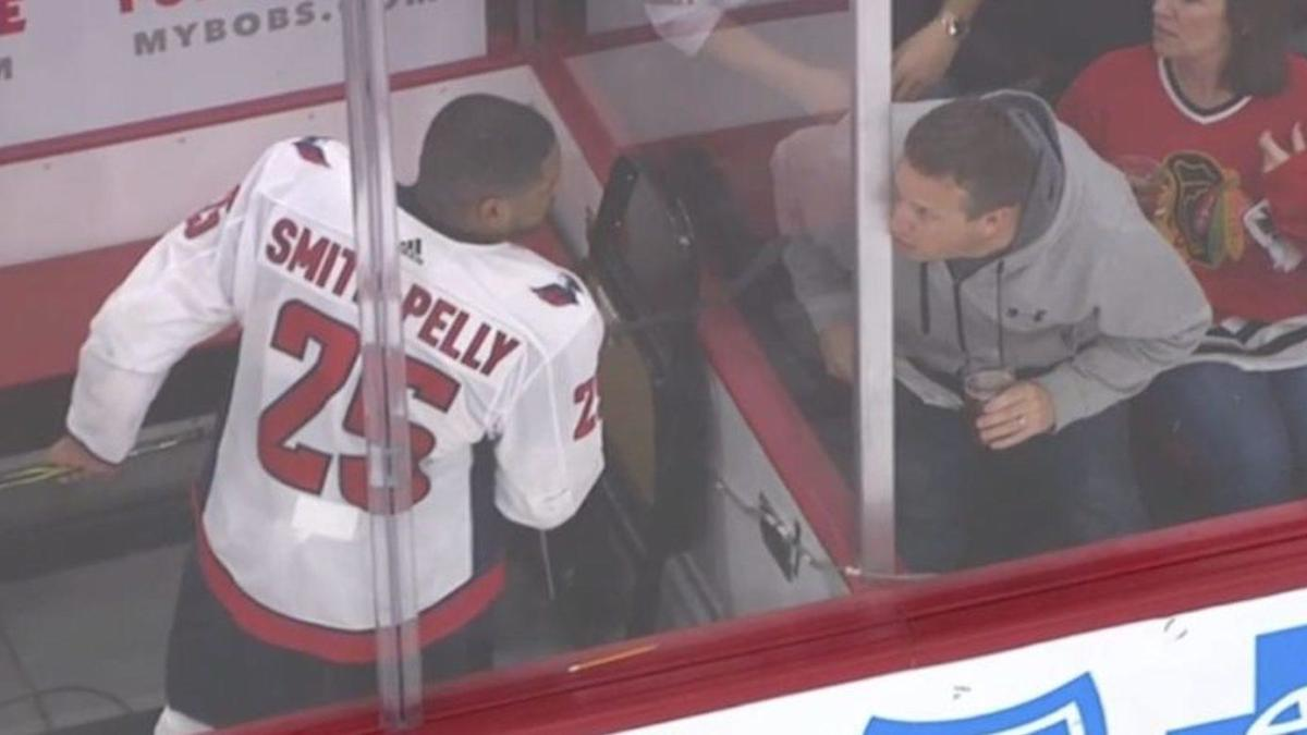 b7f98026 Chicago fans ejected following racist taunts at Capitals' Devante  Smith-Pelly - CBSSports.com