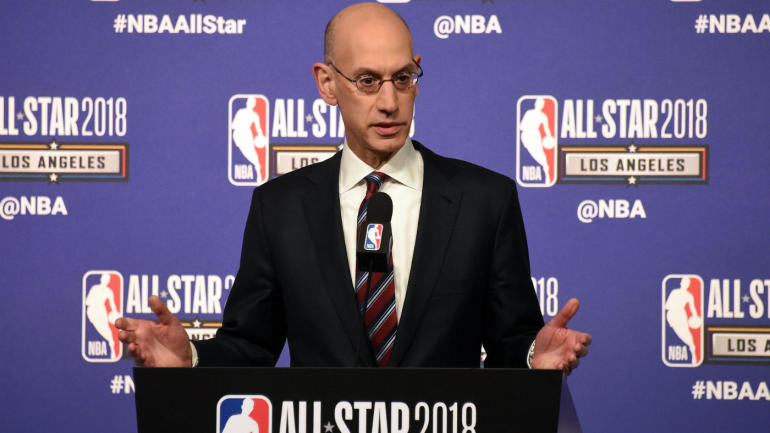 5013ca4dff62 Adam Silver  proud  of LeBron James and Kevin Durant for speaking on social  issues - CBSSports.com