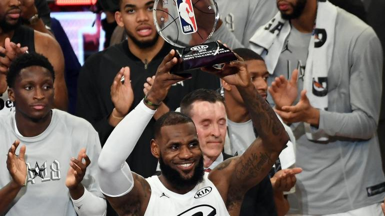 9356f7b915d1 NBA All-Star Game  LeBron James wins MVP