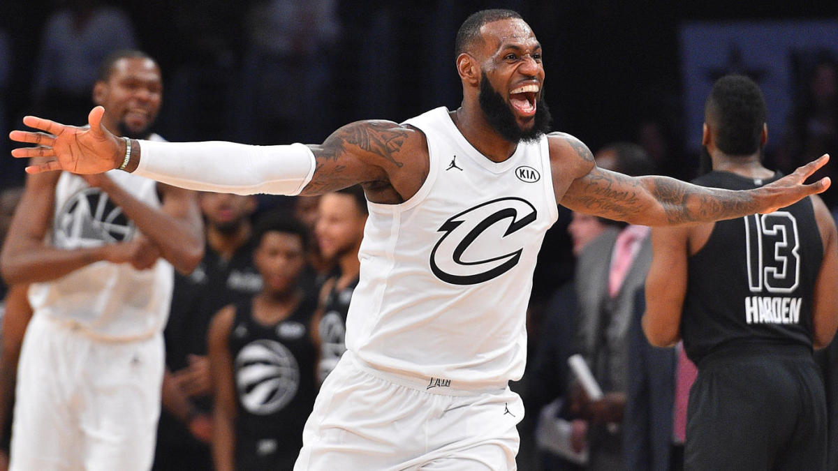 cheap for discount 529f3 53d90 NBA All-Star Game: LeBron James just wasn't going to let ...
