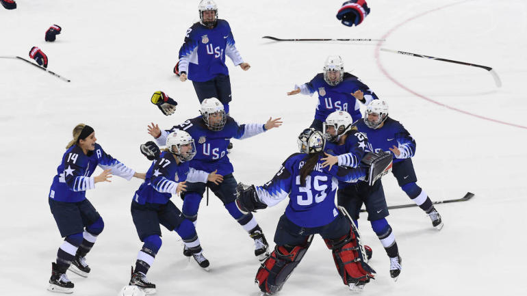 2018 Winter Olympics: Team USA women's hockey beats Canada in gold medal thriller