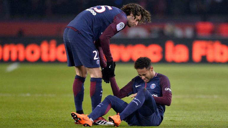 Image result for Neymar injury
