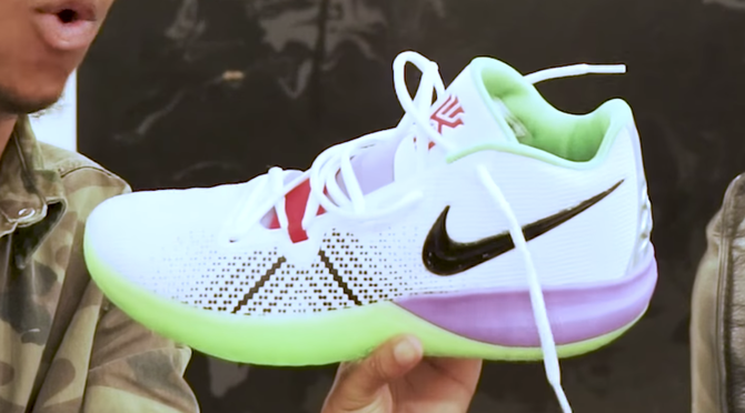 LOOK: Kyrie Irving debuts new Nike sneakers inspired by 'Toy Story'