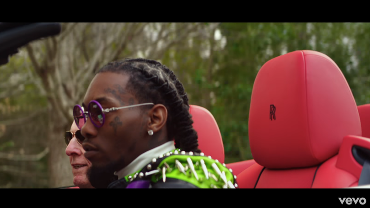 LOOK: Ric Flair in Offset's video for 'Ric Flair Drip' is