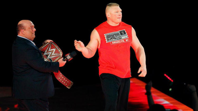 WWE fans furious after Brock Lesnar works 35-second match at Chicago live event thumbnail