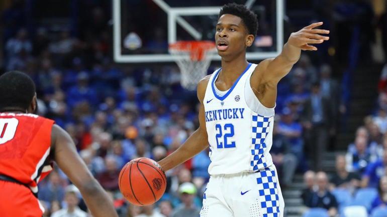 c6cf707c9 Kentucky freshman point guard Shai Gilgeous-Alexander is headed to the NBA