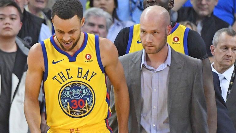f081de5d3a8a Stephen Curry injury update  Warriors star aiming for Friday return vs.  Hawks - CBSSports.com