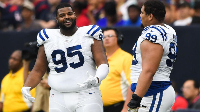 9feddb65749 Colts surprisingly cut Johnathan Hankins one year after giving him  27  million deal