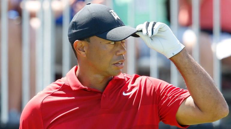 tiger woods score today  late ejection halts exciting run