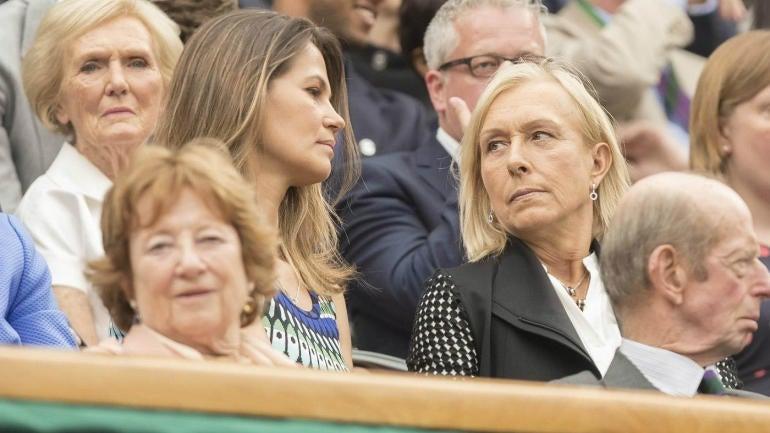 Martina Navratilova: BBC pays me a 10th of what John McEnroe makes at Wimbledon