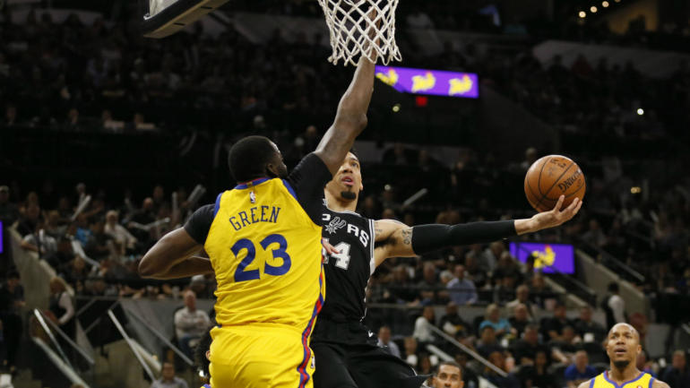 Draymond Green leaves Warriors' game vs. Spurs with pelvic contusion, but X-rays negative