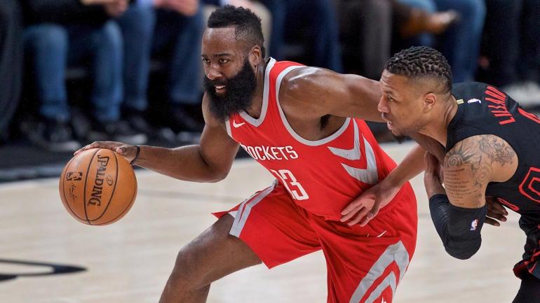 NBA games Tuesday, scores, highlights, news: Rockets end Blazers' 13-game winning streak