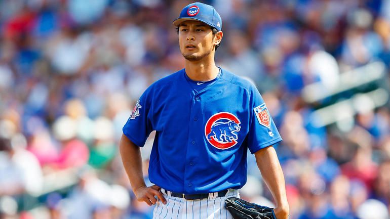 cubs yu darvish placed on the dl here s who is likely to replace