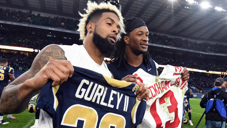 Why a giants rams trade for odell beckham jr makes sense and more why a giants rams trade for odell beckham jr makes sense and more nfl news cbssports m4hsunfo