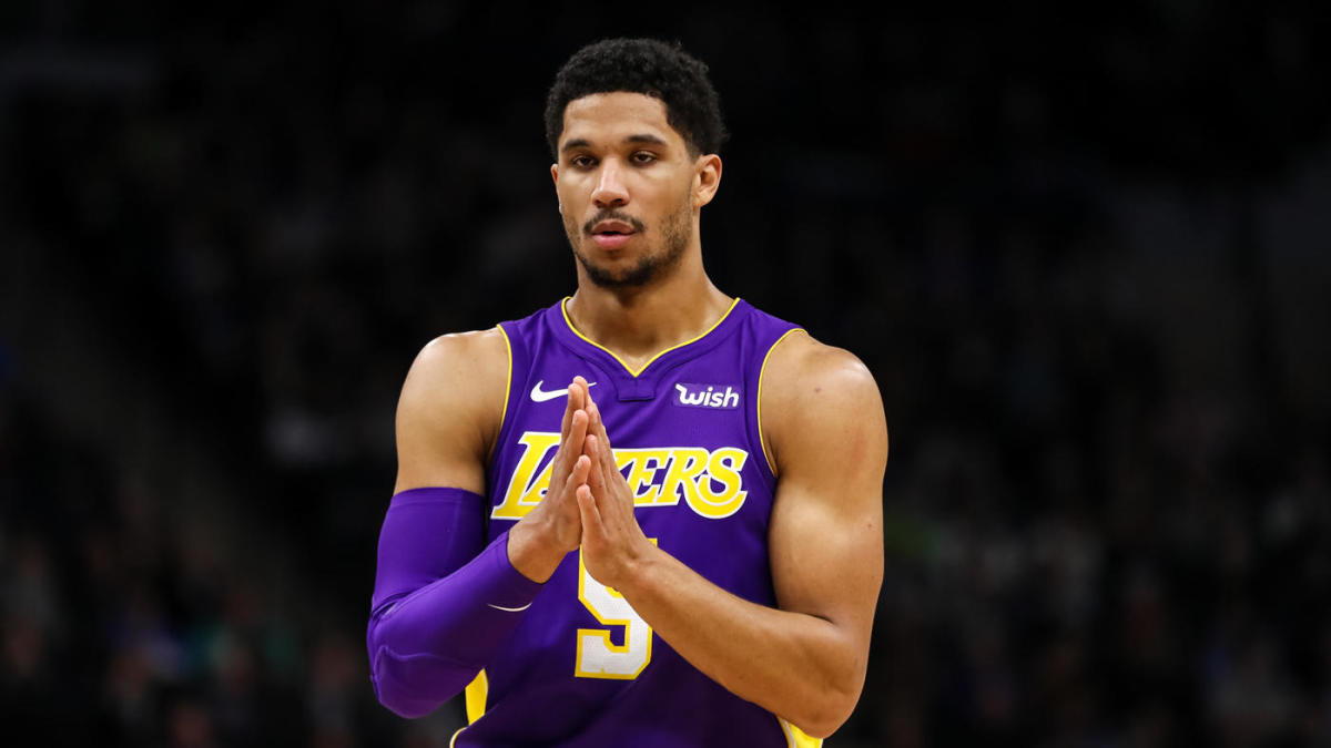 c834691d98c LOOK: Lakers' Josh Hart took a double swipe at Lonzo Ball and Shiggy's  shooting form - CBSSports.com