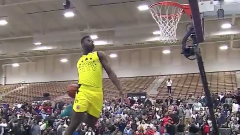 Watch Zion Williamson Wins Mcdonald S All American Dunk