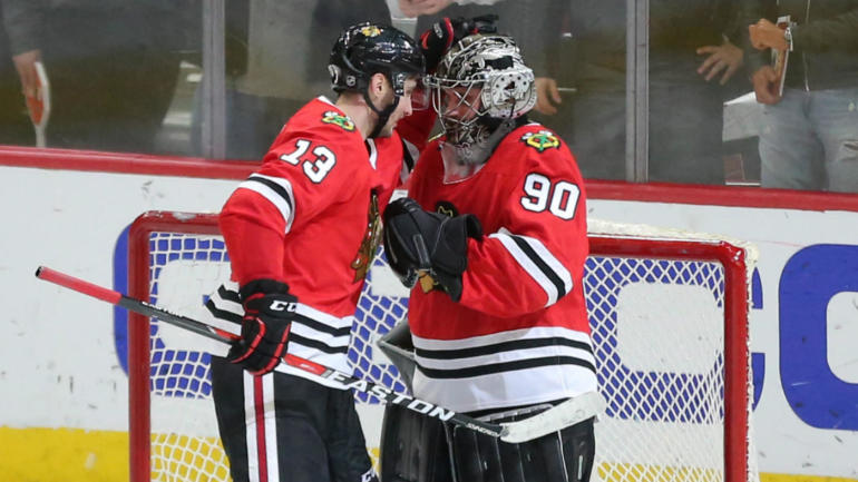 LOOK: A 36-year-old accountant was perfect as Blackhawks\' emergency ...