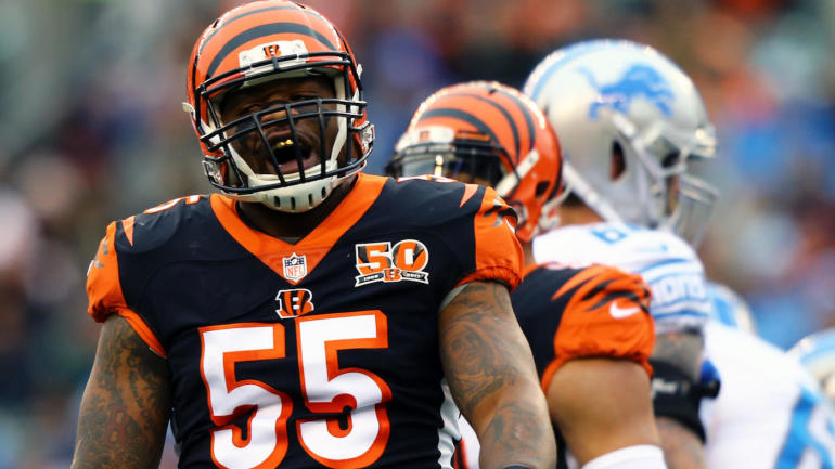 Bengals LB Vontaze Burfict suspended four games for PED violation