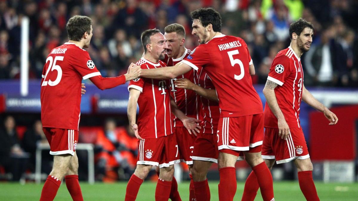 Bayern Vs Athen